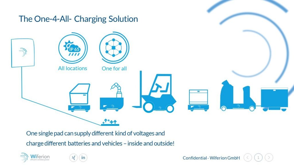 all for one charging system industrial - advantages wireless inductive charging