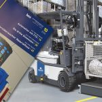 BHS Intralogistics wireless charging - industry 4.0