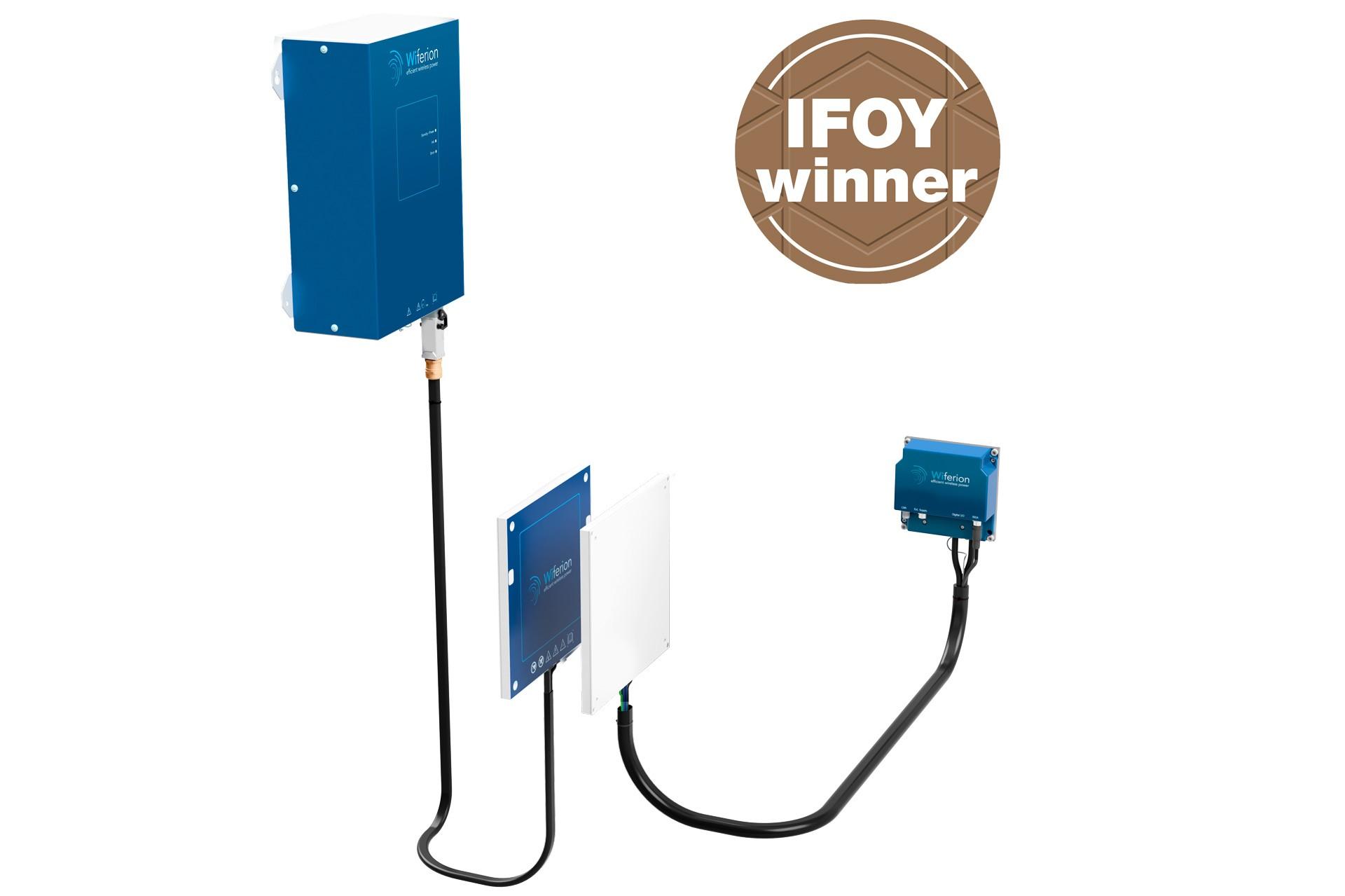etaLINK 3000 - new Mobile Unit 2020 - wireless power - wireless charging - 3kW - induktives laden agv