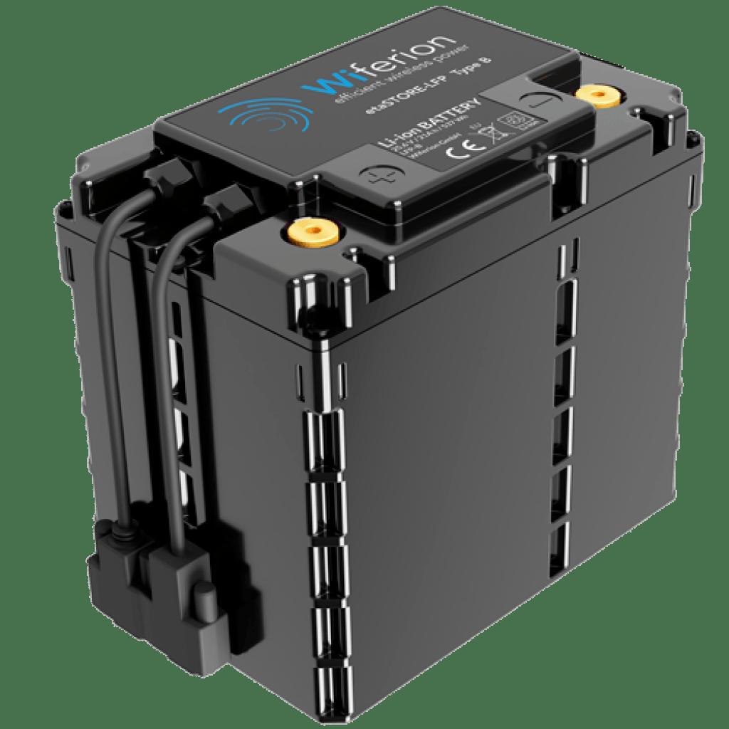 Wiferion etaSTORE LFP - Battery - Batterie - Lithium Ion Battery - Industrial LiFEPo - Lithium Ionen Batterie für FTS, FFS, Flurförderzeuge und AGV