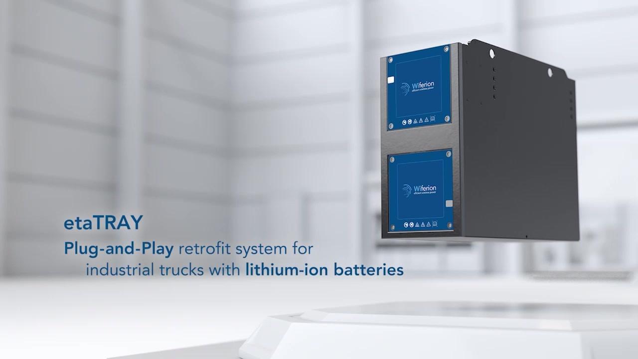 staplerbatterie für stapler, hubwagen, flurförderzeug - akku - batterietrog