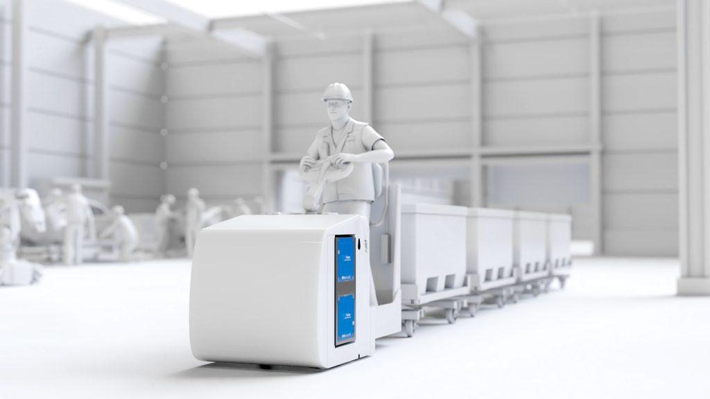 staplerbatterie für flurförderzeug - 48v batterie kaufen - lagerlogistik