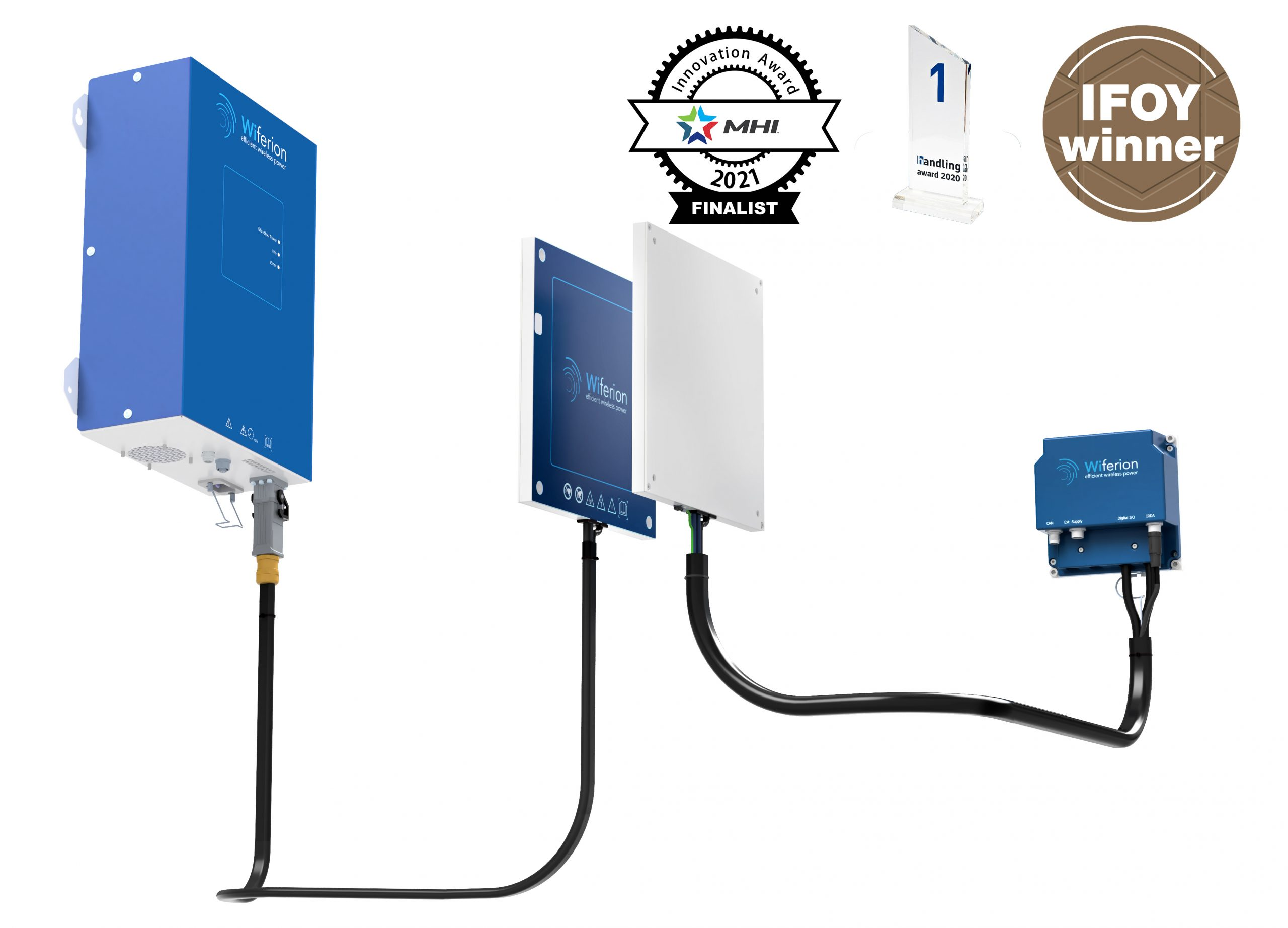 inductive battery charging system - inductive charging systems - wiferion etalink 3000