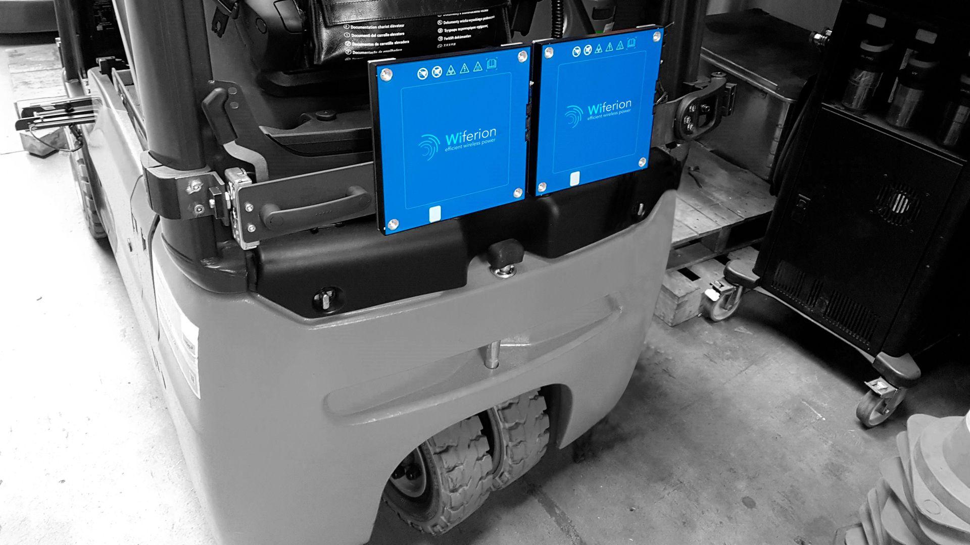 lindig klapparm kabelos laden wiferion 6kw induktiv nachruesten retrofit wireless charging application
