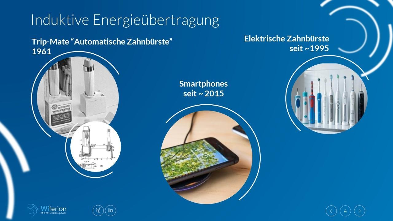 Induktive Energieübertragung - Zahnbürste - Telefon - wireless charging toothbrush - tesla increase availability
