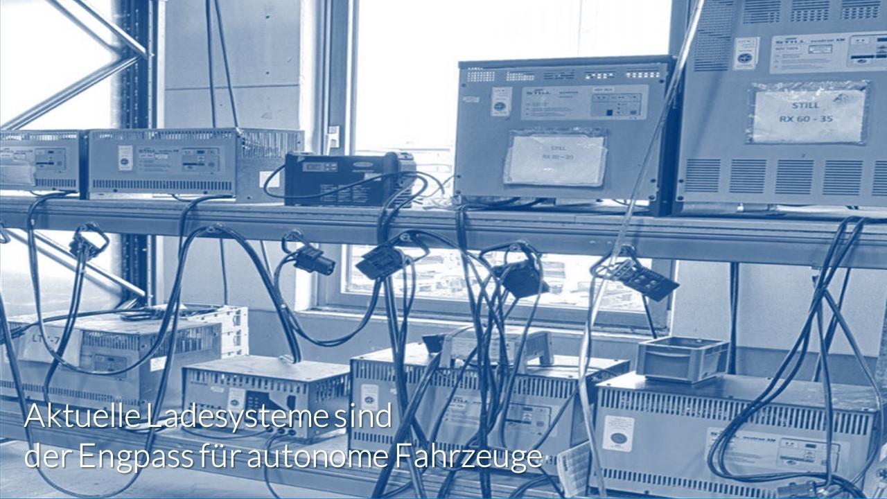 Ladegeräte Chaos bei heutigen Logistikbereichen mindern Verfügbarkeit - old chargers reduce availability