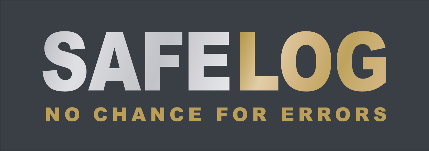 Safelog Logo - Black - original - energieversorgung fts - energy supply agv