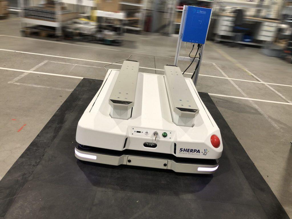 Sherpa Mobile Robotics kooperiert mit Wiferion