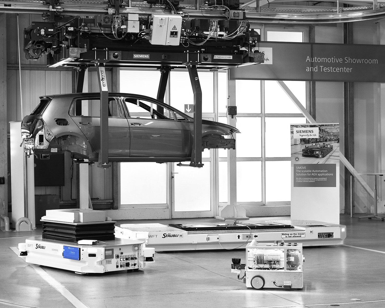 anwendungsgebiet produktion induktives laden - inductive charging application area - agv