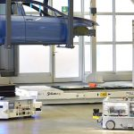 wireless charging siemens automotive testcenter agv