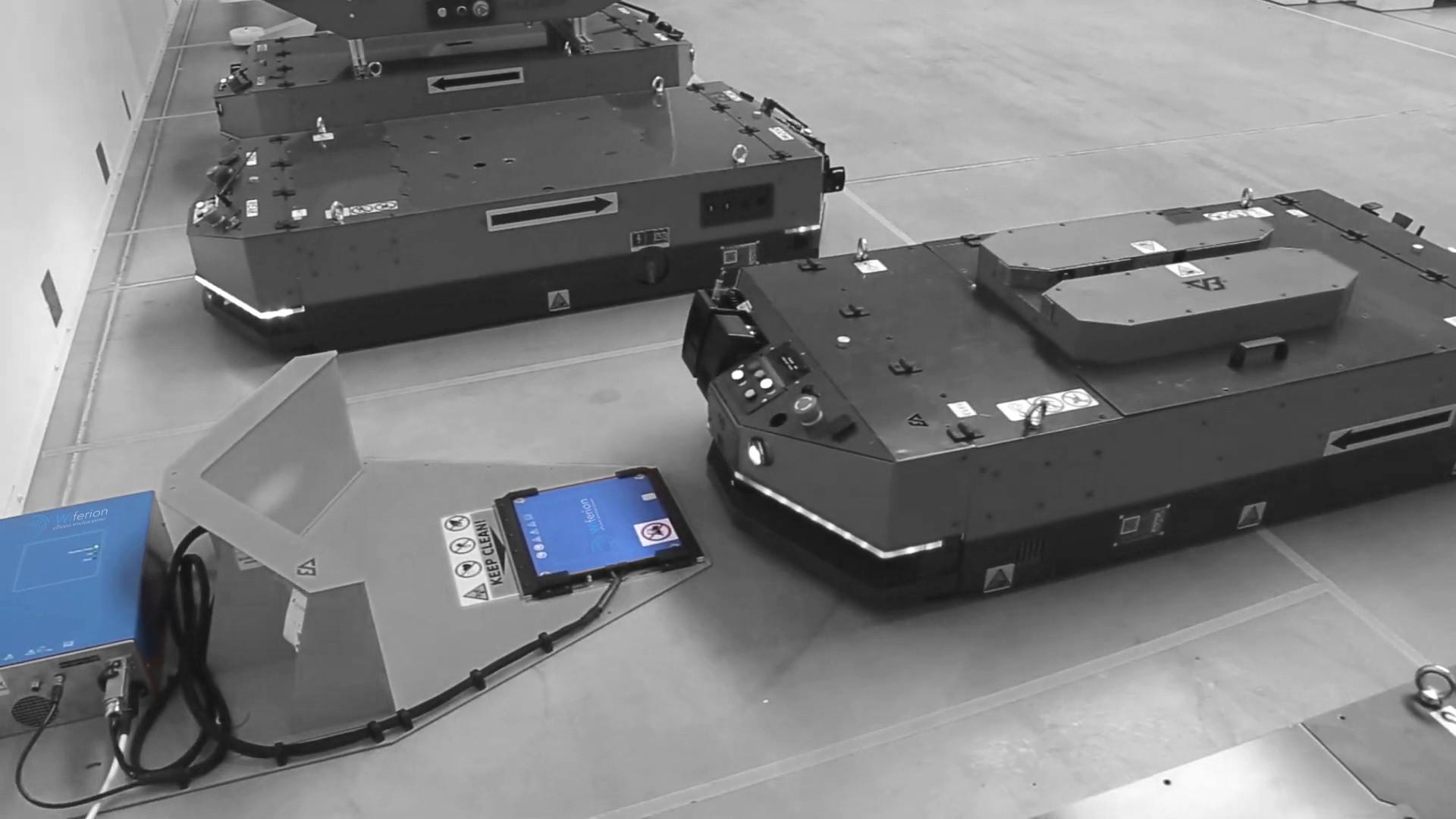 versabox wireless charging agv induktives laden fts anwendung