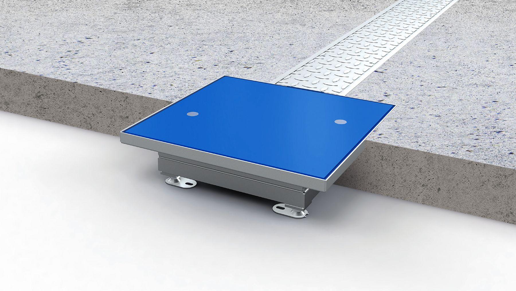 WCPS - PUK - wireless charging in ground application - installation induktives laden