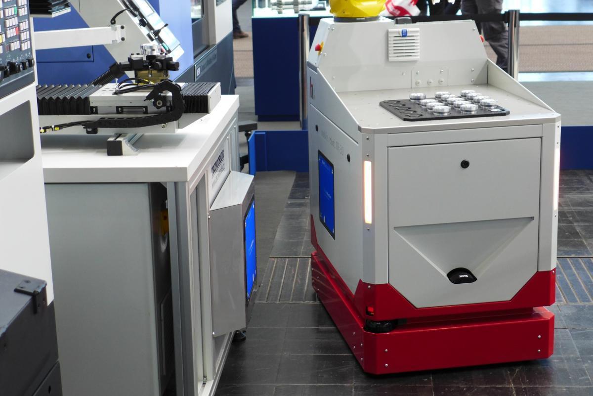 induktives laden AMR - Wireless Charging AMR