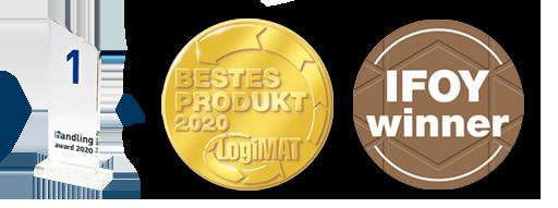 Wiferion Wireless Charging Winner Awards AGVs Partner