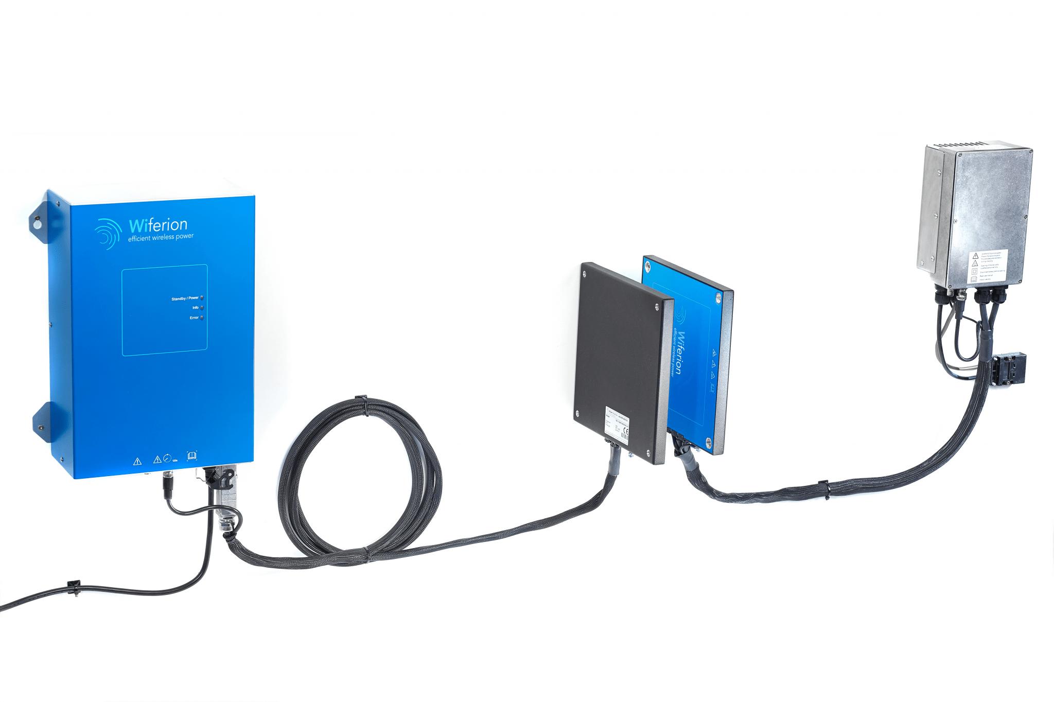 Wiferion efficient wireless charging - Product - etaLink 3000 - induktives laden