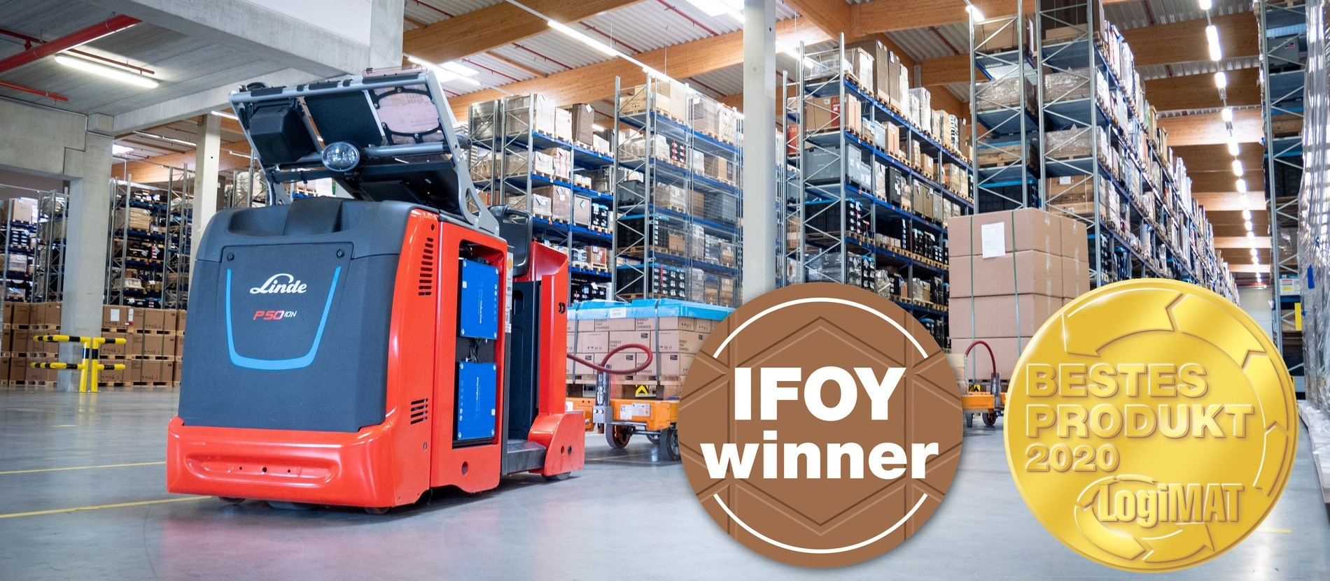 Wiferion SMA Routenzug Winner IFOY and Logimat Award