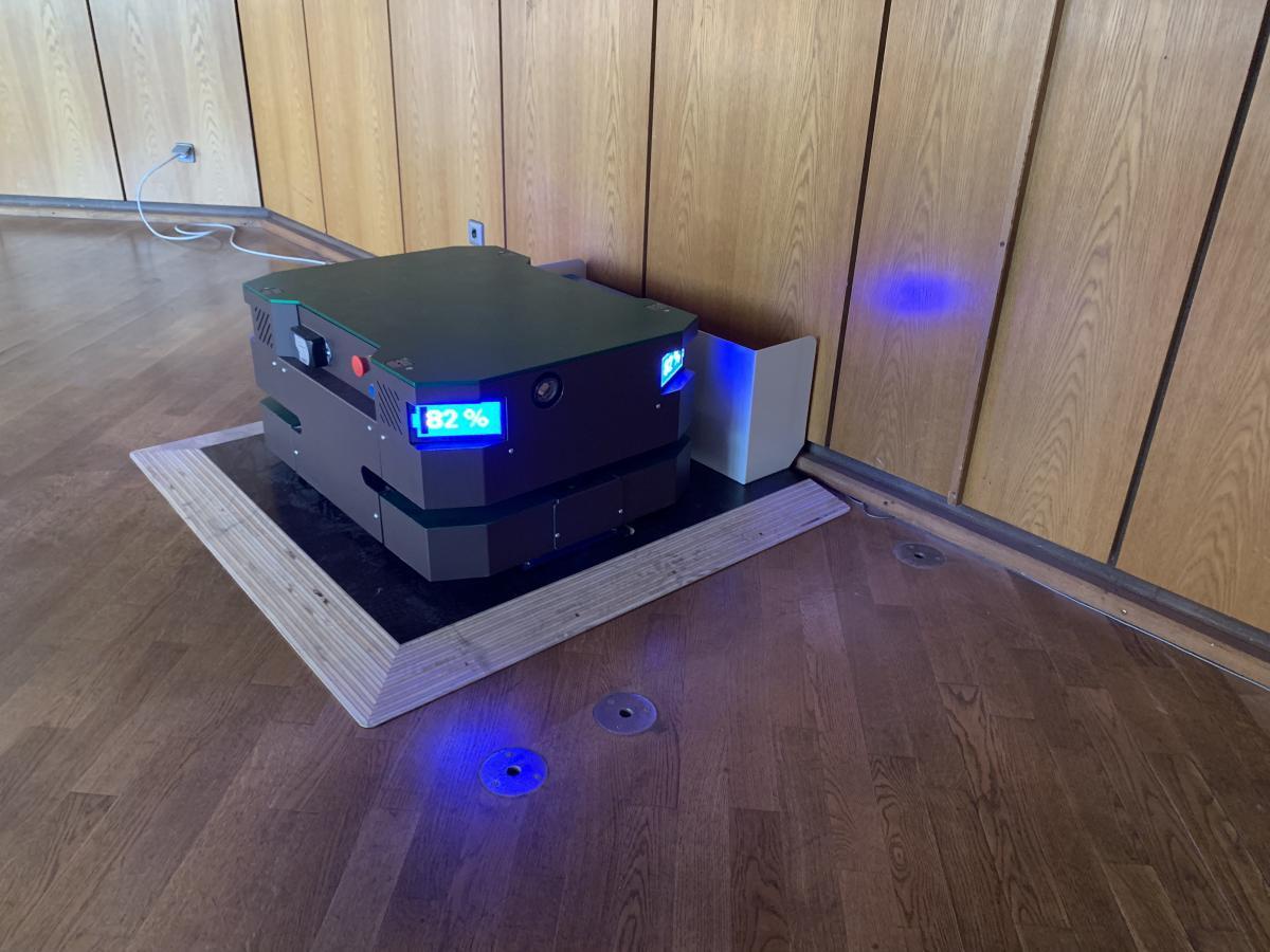 Wiferion + Brunner Maschinenbau - Wireless Charging AGV