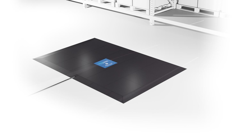 wireless charging ground installation - etatiles set - bodeninstallation induktives laden
